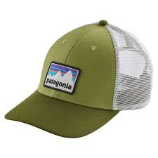 <b>Patagonia Shop Sticker</b> Patch LoPro Trucker Hat Зеленый, Trekkinn ...