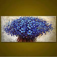 <b>100</b>% <b>Handpainted Oil Painting</b> on Canvas new Handmade knife ...