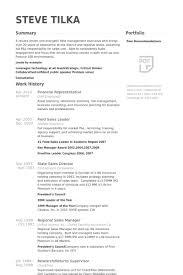 financial representative resume samples   visualcv resume samples    financial representative resume samples