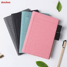 Domikee Classic fabric hardcover cover fitted travel <b>journal</b> ...