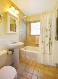 bathroom tile s yellow