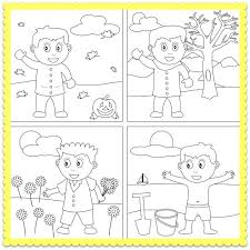 1000+ images about seasons on Pinterest | Four Seasons, Coloring ...A Four Seasons Coloring Worksheet! Let's color the four seasons!