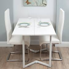 cream compact extending dining table: dining table for small space large dining table in small space