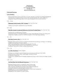 resume cook objective line cook resume example sample head chef chef resume objective