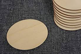 DECOCRAFT 10x <b>Wooden Oval</b> Blank Plaque Embellishment Craft ...