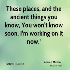 Andrew Motion Quotes | QuoteHD via Relatably.com