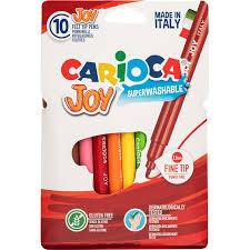 <b>Фломастеры CARIOCA</b>, <b>JOY</b> 10 цветов, картон. короб. с е/п ...