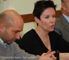 Da sinistra Fabio Fiori direttore dell'hotel Panorama e Ramona Cherchi direttrice commerciale dell'hotel Hilton Sotto il tavolo con sindaco e albergatori - image