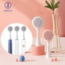 <b>SOOCAS</b> Facial Cleansing Brush Head <b>Original</b> X1 <b>X3</b> X5 Sonic ...