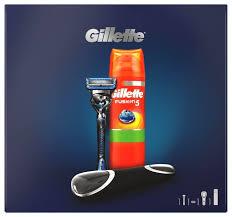 <b>Набор Gillette</b> подарочный: дорожный чехол, гель для бритья ...