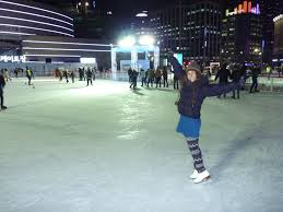 skating in seoul wake up and dance to get to this rink take the subway to city hall and leave out of exit 5 if possible exit 5 was closed for construction when we went