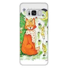 <b>Чехол для Samsung Galaxy</b> S8 Plus, объёмная печать Лисичка и ...