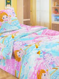 <b>Комплект постельного белья</b> Fun <b>Ecotex</b> Фея и единорог розовый ...
