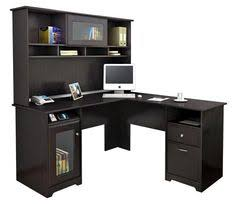 l shaped desk with hutch espresso oak by bush 1 800 460 bathroomoutstanding black staples office furniture lshaped