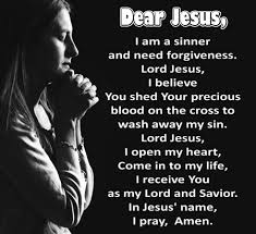 Image result for the sinner's prayer in the bible