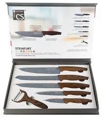 <b>Набор</b> CS-Kochsysteme Steinfurt 5 <b>ножей</b> с <b>овощечисткой</b> ...