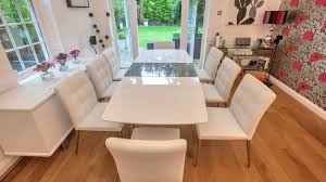 Dining Room Chairs White Large Square Dining Table Seats Is Also A Kind Of Furniture Large