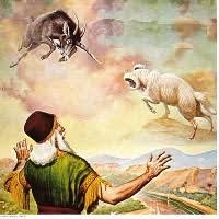 Image result for The RAM AND THE gOAT dANIEL 8: 3