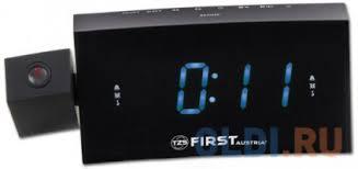 <b>Часы</b> с радиоприёмником <b>First FA</b>-<b>2421</b>-<b>8</b> чёрный — купить по ...