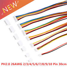 20PCS=<b>10Sets Micro Mini JST</b> 2.0 PH Connector Male Female 2/3/4 ...