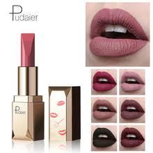 Профессиональный макияж Pudaier, <b>матовая</b> губная <b>помада</b> ...