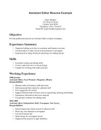 editor resumes template editor resumes