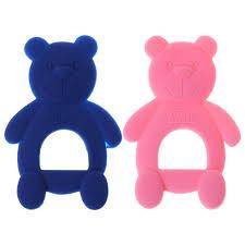 <b>Baby Bear Cute</b> Teethers DIY Necklace Teething Massage Pain ...