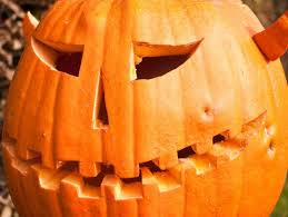 A simple, smiling jack-o'-lantern is a traditional <b>element</b> of ...