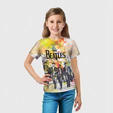 The Beatles – детские <b>футболки</b>, купить от 960 руб с доставкой