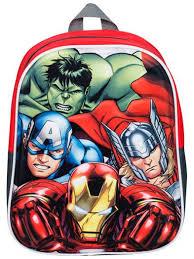 Детский <b>рюкзак Marvel Avengers</b> Assemble 3D Мстители ...