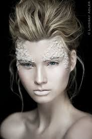 lindsay adler photography sandra perez check out this crazy makeup what do you think that is rock salt maybe