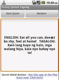 Funny Quotes Tagalog APK Download - Free Entertainment app for ... via Relatably.com
