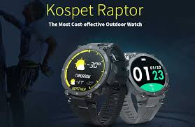 <b>Kospet Raptor Outdoor</b> Smartwatch - Review of Features