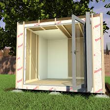 the breather membrane is a key aspect of a garden offices construction building a garden office