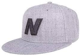 New Balance <b>Exploded Logo</b> Snapback Flat Brim <b>Cap</b>: Amazon.com ...