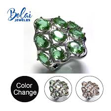<b>Bolaijewelry</b>,<b>Zultanite rings 925 sterling</b> sliver big size rings created ...