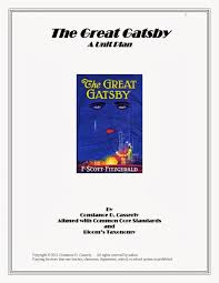 teach it write  the great gatsby cover