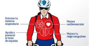 Resultado de imagen de practicando bicicleta por la ciudad musculos