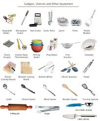 kitchen item names toy play set