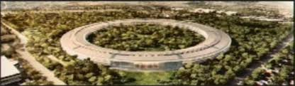 apples proposed spaceship like office building for new campus apple new office