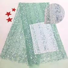 Latest green Laces sequins Africa Nigerian Wedding High Qualit ...