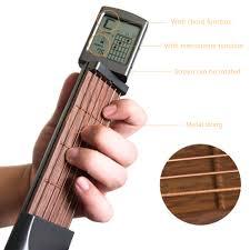 SOLO <b>Portable Guitar Chord Trainer</b> Pocket Guitar Practice Tools ...