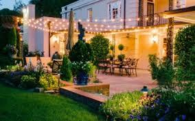 illuminate your outdoor life backyard landscape lighting