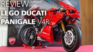 <b>LEGO TECHNIC Ducati Panigale</b> V4R (42107) | Build & Review ...