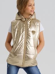Утепленные <b>жилеты</b> для девочек - <b>PlayToday</b>