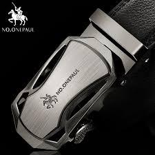 NO.ONEPAUL <b>Luxury brand</b> Male <b>Genuine Leather</b> Strap Belts For ...