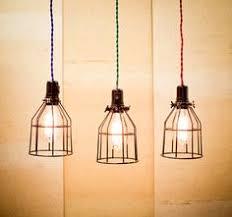 the industry vintage caged pendant light by edlshop on etsy via etsy i antique pendant lighting