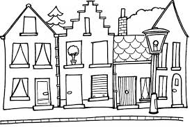 Small Picture Building Coloring Page Miakenasnet