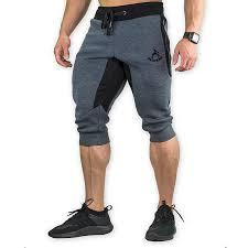 Mens Summer Cotton <b>Breathable</b> Drawstring <b>Knee</b> Length Casual ...