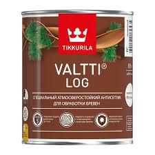 <b>Антисептик Tikkurila Valtti Log</b> красное дерево (0,9л) купить в ...